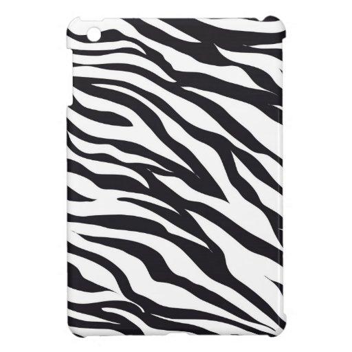 Black and White Zebra Stripes Print Pattern Gifts iPad Mini Covers
