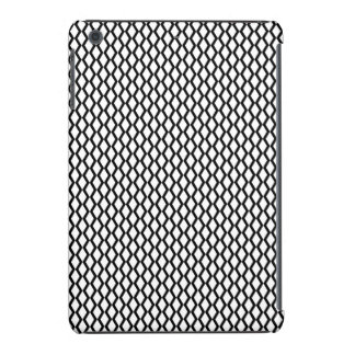 Black and White Zig Zag Lines iPad Mini Retina Case