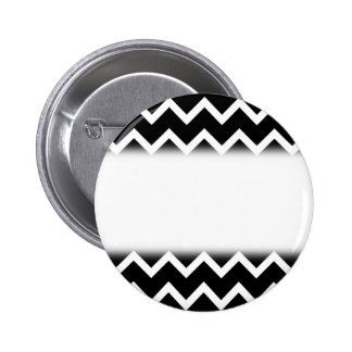 Black and White Zig Zag Pattern Buttons