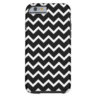 Black and White Zig Zag Pattern. Tough iPhone 6 Case