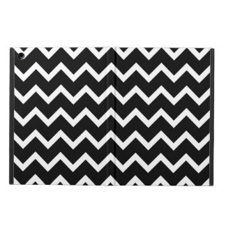 Black and White Zig Zag Pattern. iPad Air Case