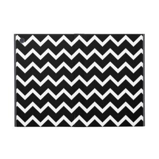 Black and White Zig Zag Pattern. iPad Mini Case