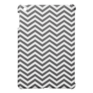 Black and White Zig Zag Pattern iPad Mini Covers