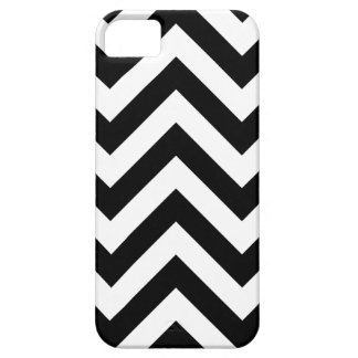 Black and white  Zigzag Chevrons Pattern iPhone 5 Case