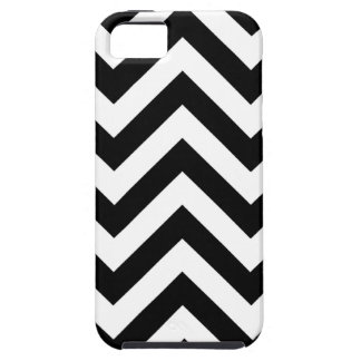 Black and white  Zigzag Chevrons Pattern iPhone 5 Covers