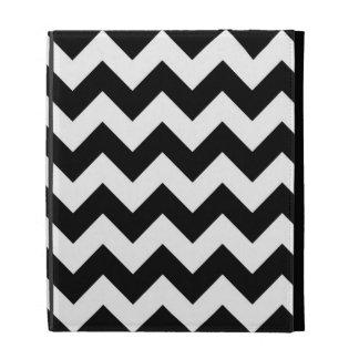 Black and White Zigzag iPad Folio Covers