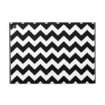 Black and White Zigzag iPad Mini Covers
