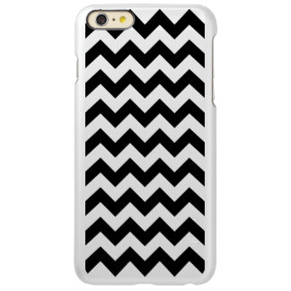 Black and White Zigzag Incipio Feather® Shine iPhone 6 Plus Case