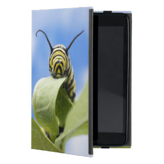Black and yellow caterpillar iPad mini cover