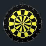 "Black and Yellow Dartboard<br><div class=""desc"">Black and Yellow dart for a common looks.</div>"