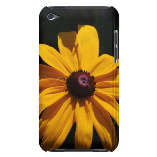 Black and Yellow Flower iTouch Case iPod Case-Mate Cases