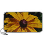 Black and Yellow Flower Portable Speakers