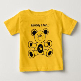 Black and Yellow Football Bear, Already a fan... Tshirts