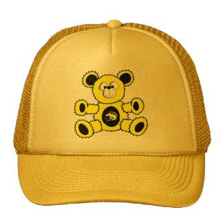 Black and Yellow Football Bear Hat