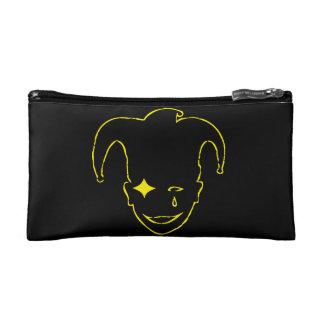 Black And Yellow MTJ Cosmetic Bag