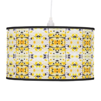 Black and Yellow Pendant light Hanging Lamp