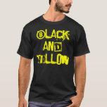 Black and Yellow Rep T-Shirt