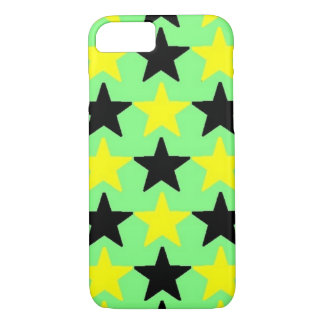 Black and Yellow stars, iPhone 7 case