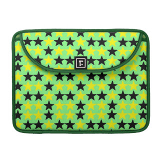 "Black and Yellow Stars, Macbook Pro 13"" Rickshaw Sleeve For MacBook Pro"