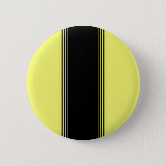 Black and Yellow Stripe Button