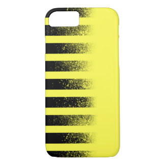 Black and Yellow Striped iPhone 7 Case