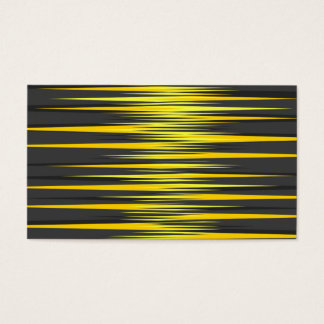 Black and Yellow Stripes Business Card