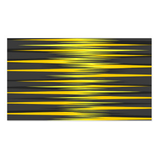Black and Yellow Stripes Business Card Template