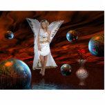 black angel beauty acrylic cut out