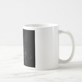Black Angel Greyhound Coffee Mug