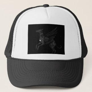 Black Angel Greyhound Trucker Hat