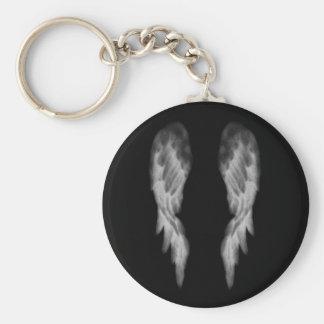Black Angel Wings Keychain