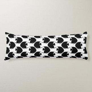 Black Angelfish Body Pillow