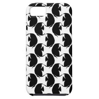 Black Angelfish iPhone SE/5/5s Case