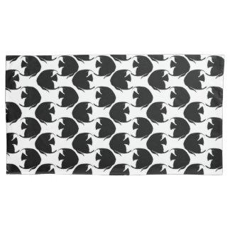 Black Angelfish Pillowcase