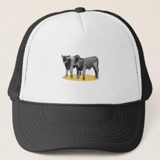 Black Angus Calves Trucker Hat