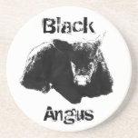 Black Angus Drink Coasters