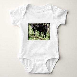 Black Angus Heifer Calves Baby Bodysuit