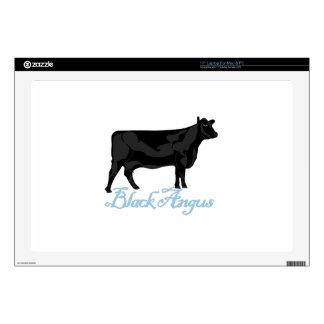 Black Angus Laptop Skins