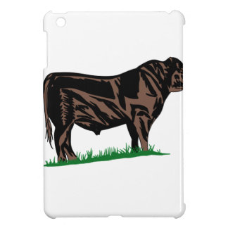 Black Angus Steer Case For The iPad Mini