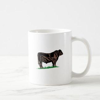 Black Angus Steer Coffee Mug