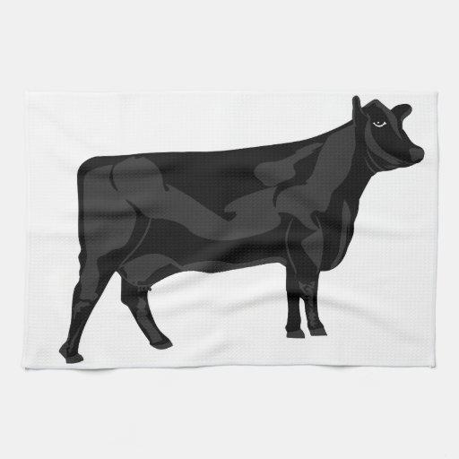 Zazzle Black Angus Towel