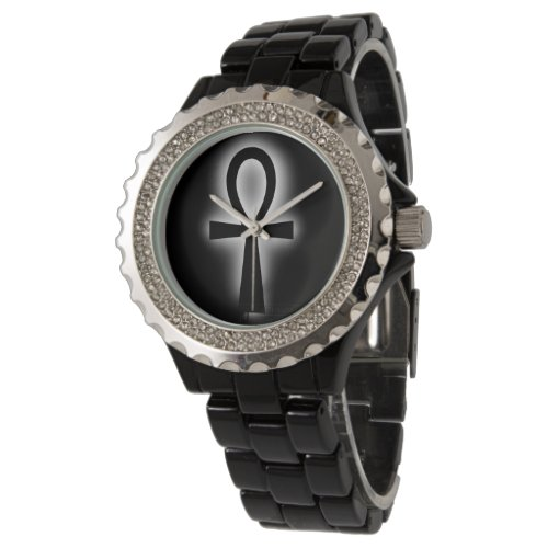 Black Ankh Watch by DAP Apparel