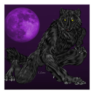 Werewolf Art & Wall Décor | Zazzle