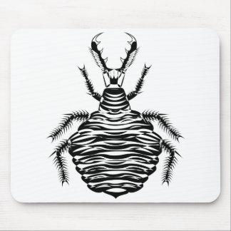 Black antlion mouse pad
