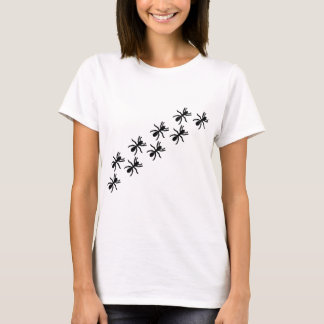 black ants trail T-Shirt
