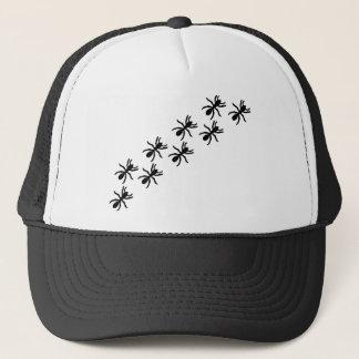 black ants trail trucker hat