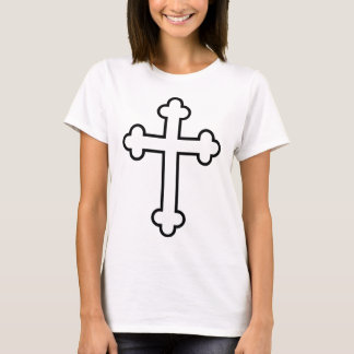black apostles cross or budded cross T-Shirt