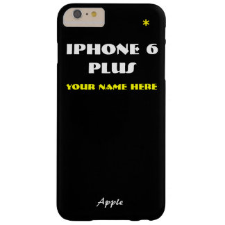 Black Apple Customize IPhone 6 case your name