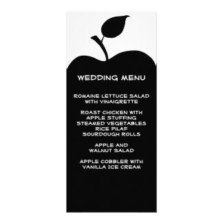 Black Apple Wedding Menu