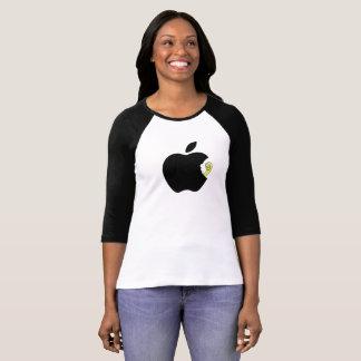Black Apple WORM T-Shirt